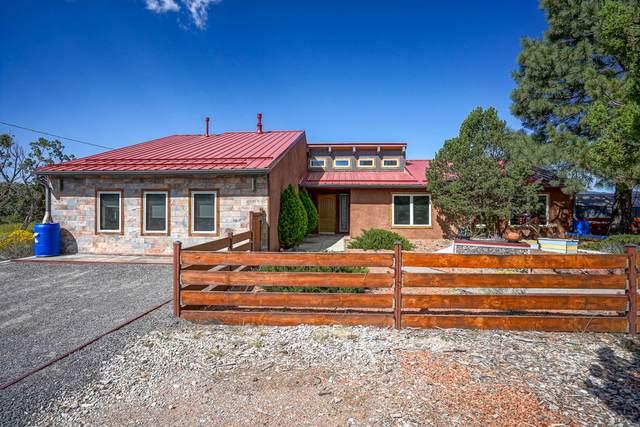 36-B Vallecitos Road, Tijeras, NM 87059 (MLS #1001117) :: Campbell & Campbell Real Estate Services