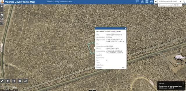 Lot 4 Rio Del Oro #55, Los Lunas, NM 87031 (MLS #1001252) :: Campbell & Campbell Real Estate Services