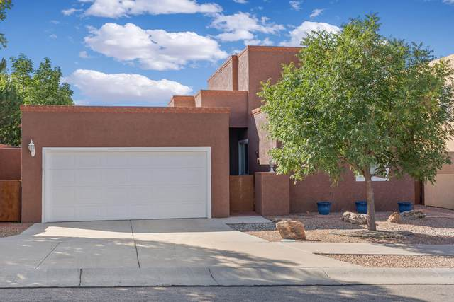 4100 Skyview Crest Road NW, Albuquerque, NM 87114 (MLS #1001271) :: Sandi Pressley Team