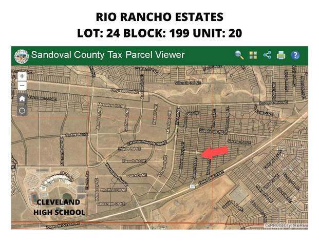 Ouray Road NE, Rio Rancho, NM 87144 (MLS #1001363) :: Campbell & Campbell Real Estate Services