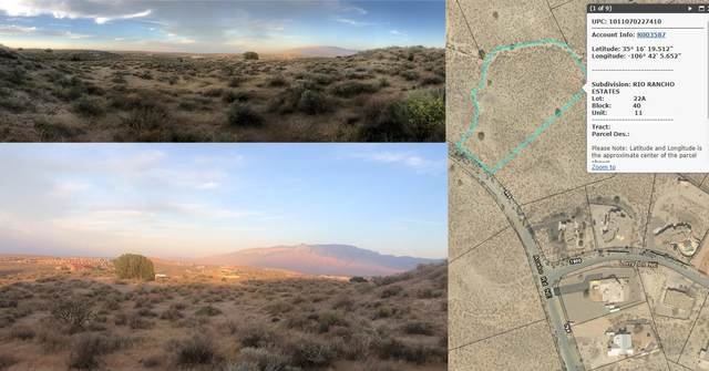 Acebo Road NE, Rio Rancho, NM 87124 (MLS #1001472) :: Campbell & Campbell Real Estate Services
