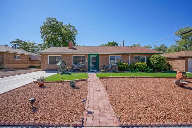 7718 Euclid Avenue NE, Albuquerque, NM 87110 (MLS #1001575) :: Keller Williams Realty
