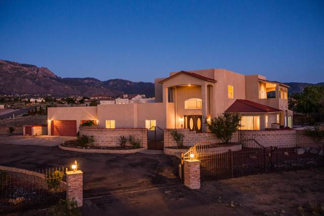 9100 Elena Drive NE, Albuquerque, NM 87122 (MLS #1001624) :: Campbell & Campbell Real Estate Services