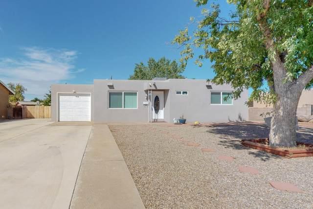 3505 Morningside Drive NE, Albuquerque, NM 87110 (MLS #1001842) :: Keller Williams Realty