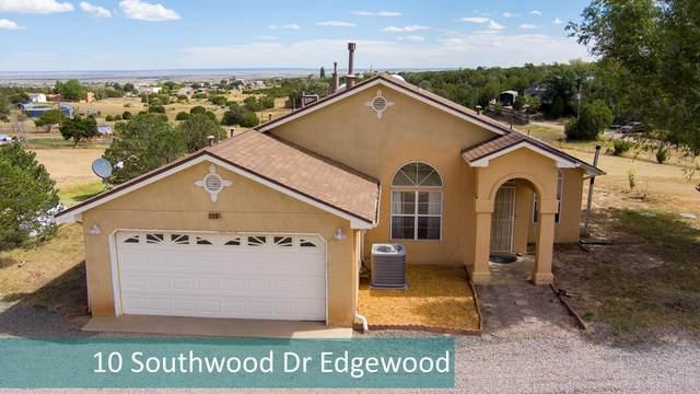 10 Southwood Drive, Edgewood, NM 87015 (MLS #1001962) :: The Buchman Group