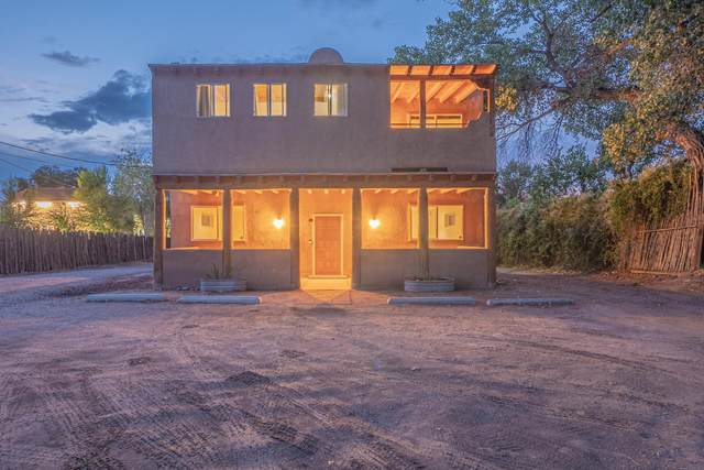 3777 &3785 Corrales Road, Corrales, NM 87048 (MLS #1002159) :: Campbell & Campbell Real Estate Services