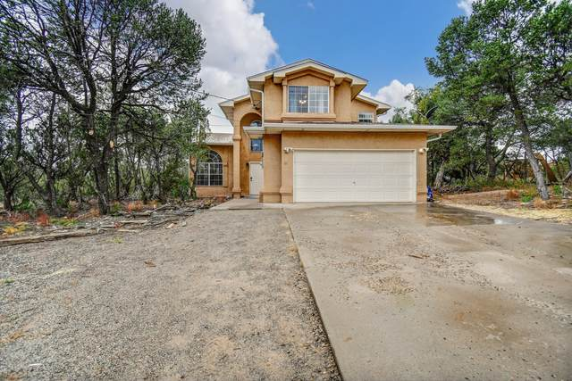 16 Quail Run Road, Tijeras, NM 87059 (MLS #1002166) :: Keller Williams Realty