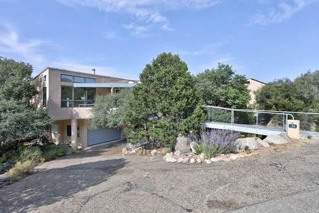 36 Rock Ridge Drive NE, Albuquerque, NM 87122 (MLS #1002170) :: HergGroup Albuquerque
