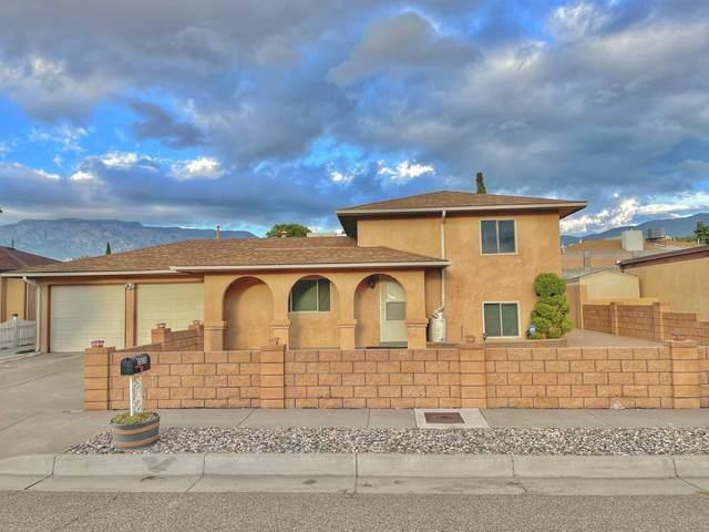 5516 Zambra Place NE, Albuquerque, NM 87111 (MLS #1002240) :: Campbell & Campbell Real Estate Services
