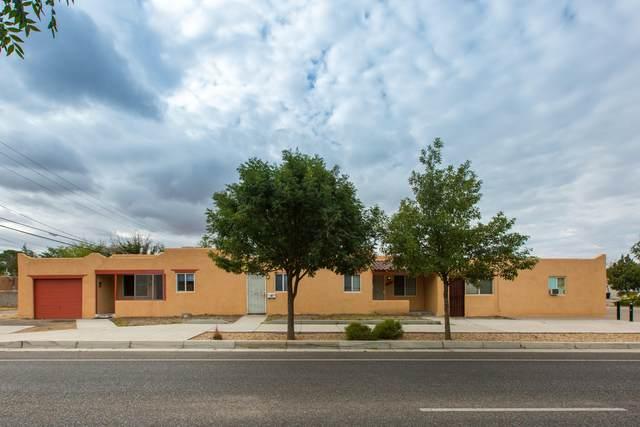 402 Columbia Drive SE, Albuquerque, NM 87106 (MLS #1002268) :: The Buchman Group