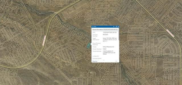 VL 13 40 Rio Del Oro #20, Los Lunas, NM 87031 (MLS #1002791) :: Campbell & Campbell Real Estate Services