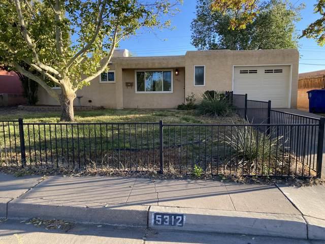 5312 Arvilla Avenue NE, Albuquerque, NM 87110 (MLS #1003233) :: The Buchman Group