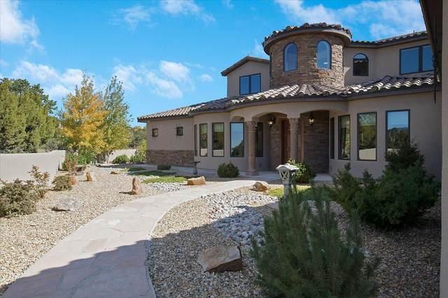 26 Pinon Ridge Road, Tijeras, NM 87059 (MLS #1003260) :: The Buchman Group