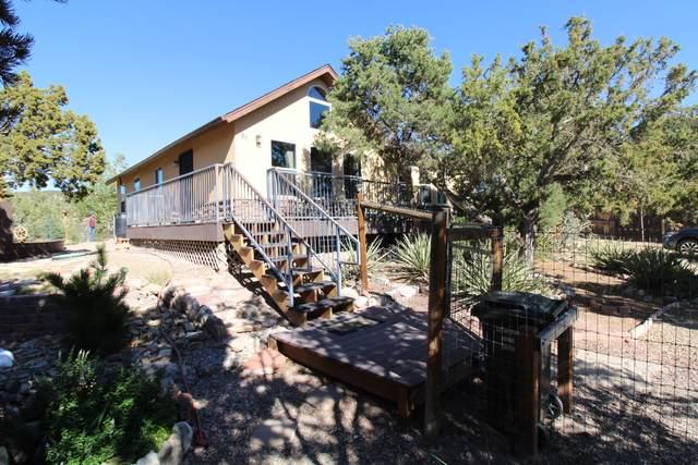 91 Pinon Heights Road, Sandia Park, NM 87047 (MLS #1003302) :: The Buchman Group