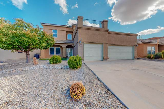8908 Hallston Trail NW, Albuquerque, NM 87114 (MLS #1003354) :: Campbell & Campbell Real Estate Services