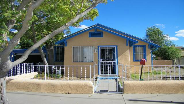910 7TH Street NW, Albuquerque, NM 87102 (MLS #1003498) :: Campbell & Campbell Real Estate Services