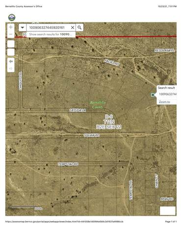 Unit 3 Block 1 Lot 2 NW, Albuquerque, NM 87120 (MLS #1003501) :: Berkshire Hathaway HomeServices Santa Fe Real Estate