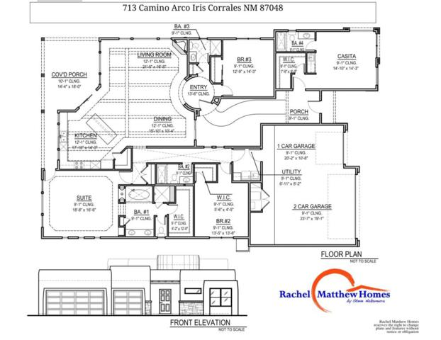 713 Camino Arco Iris, Corrales, NM 87048 (MLS #897869) :: Campbell & Campbell Real Estate Services