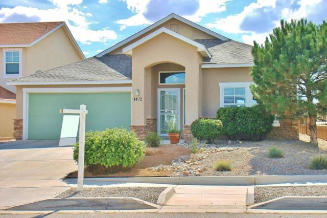 1472 Reynosa Loop SE, Rio Rancho, NM 87124 (MLS #898103) :: Campbell & Campbell Real Estate Services