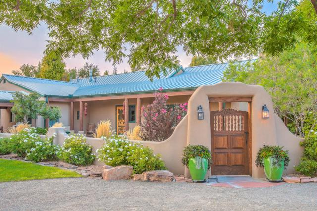 6435 NW El Camino Guadalupe Road NW, Los Ranchos, NM 87107 (MLS #901615) :: Rickert Property Group