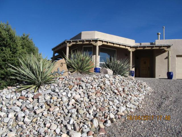5 Luna Azul, Placitas, NM 87043 (MLS #905829) :: Campbell & Campbell Real Estate Services