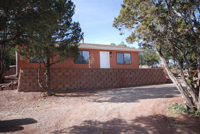 55 Durango Road, Sandia Park, NM 87047 (MLS #906356) :: Will Beecher at Keller Williams Realty