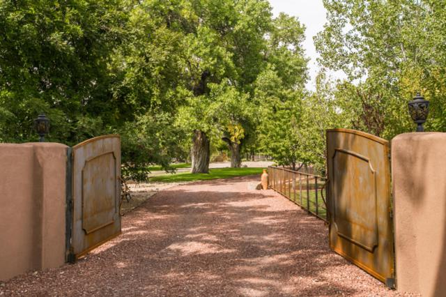5517 Rio Grande Boulevard NW, Los Ranchos, NM 87107 (MLS #907186) :: Rickert Property Group