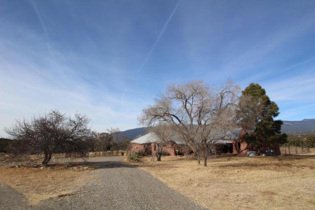 170 Sedillo Hill Road, Tijeras, NM 87059 (MLS #909257) :: Campbell & Campbell Real Estate Services