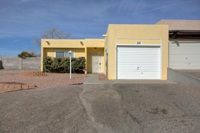 591 Star Villa Circle SE, Rio Rancho, NM 87124 (MLS #909493) :: Campbell & Campbell Real Estate Services