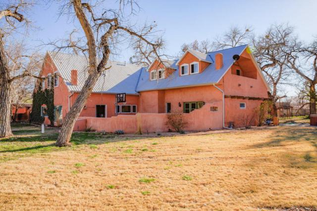 750 Dixon Road, Corrales, NM 87048 (MLS #911401) :: Will Beecher at Keller Williams Realty