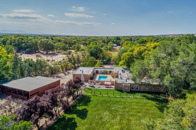 153 Quirks Lane, Corrales, NM 87048 (MLS #911601) :: Will Beecher at Keller Williams Realty