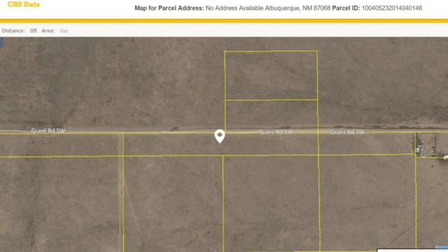 0 Pajarito Land Grant SW, Albuquerque, NM 87121 (MLS #911864) :: The Bigelow Team / Realty One of New Mexico