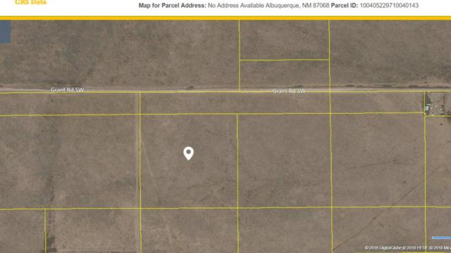 0 Pajarito Land Grant SW, Albuquerque, NM 87121 (MLS #911865) :: The Bigelow Team / Realty One of New Mexico