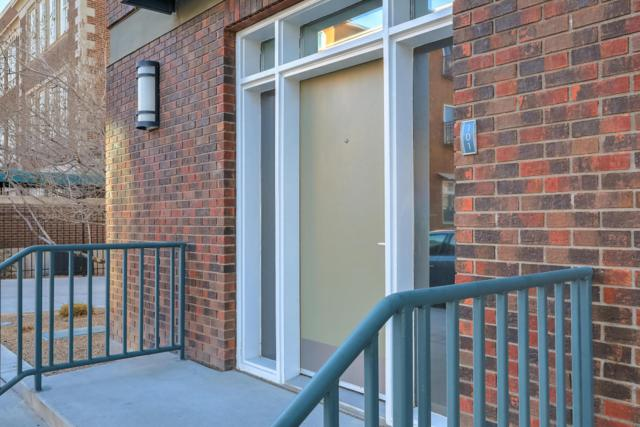 201 Arno Street NE Apt 101, Albuquerque, NM 87102 (MLS #912671) :: Campbell & Campbell Real Estate Services