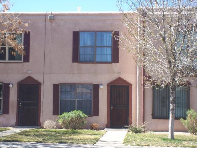 3301 Monroe Street NE Unit B20, Albuquerque, NM 87110 (MLS #913628) :: Your Casa Team