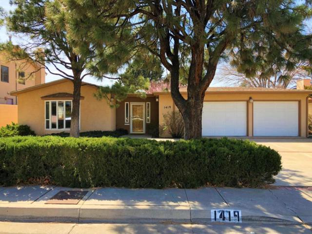 1419 Aliso Drive NE, Albuquerque, NM 87110 (MLS #913924) :: Will Beecher at Keller Williams Realty