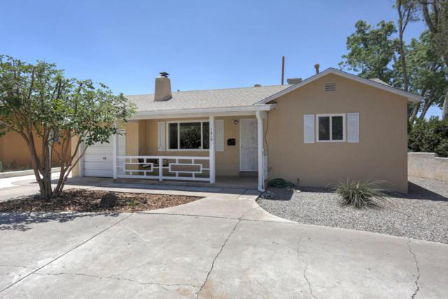 1619 Hermosa Drive NE, Albuquerque, NM 87110 (MLS #920853) :: Will Beecher at Keller Williams Realty