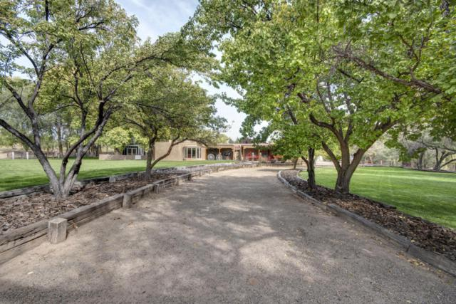153 Quirks Lane, Corrales, NM 87048 (MLS #921470) :: Campbell & Campbell Real Estate Services