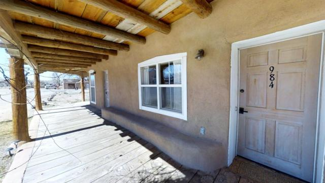 984 Old Church Road, Corrales, NM 87048 (MLS #921541) :: Will Beecher at Keller Williams Realty