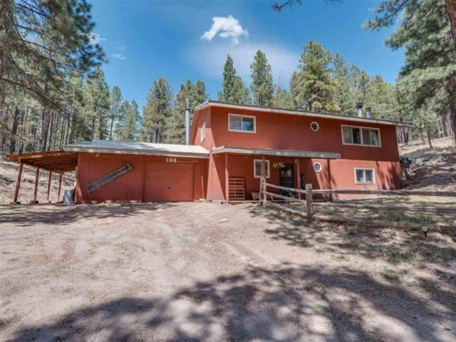 165 Forest Road 10, Jemez Springs, NM 87025 (MLS #921552) :: Campbell & Campbell Real Estate Services