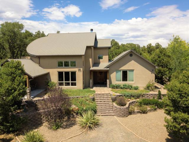 105 Edelweiss, Tijeras, NM 87059 (MLS #923418) :: Will Beecher at Keller Williams Realty