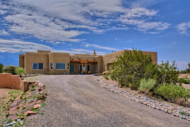 5 Solar Court, Placitas, NM 87043 (MLS #925550) :: Campbell & Campbell Real Estate Services