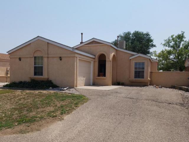 819 Rebecca Loop NE, Rio Rancho, NM 87144 (MLS #926311) :: Campbell & Campbell Real Estate Services
