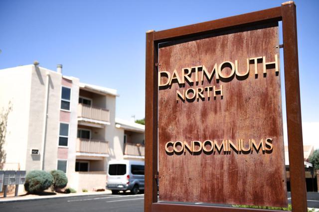 1825 Dartmouth Drive #205, Albuquerque, NM 87106 (MLS #928338) :: The Stratmoen & Mesch Team
