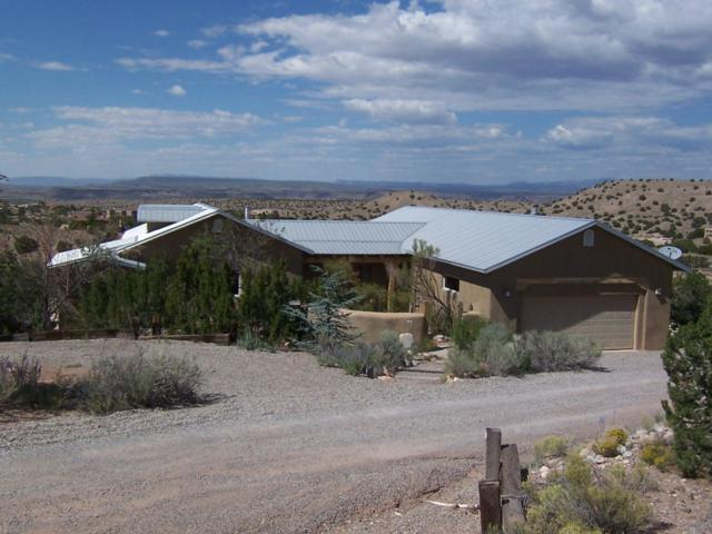 17 Cienega Canyon Rd, Placitas, NM 87043 (MLS #928878) :: Your Casa Team