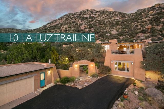 10 La Luz Trail NE, Albuquerque, NM 87122 (MLS #929052) :: Your Casa Team