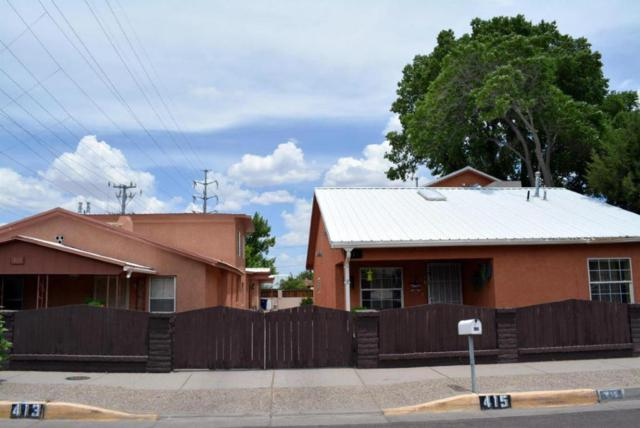 415 Marquette Avenue NE, Albuquerque, NM 87102 (MLS #930365) :: Campbell & Campbell Real Estate Services