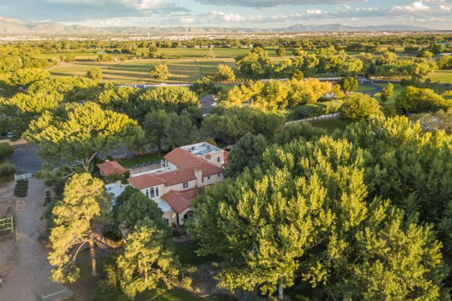 5200 Eakes Road NW, Los Ranchos, NM 87107 (MLS #931135) :: The Bigelow Team / Realty One of New Mexico