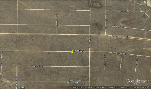 3902 Evergreen Road NE, Rio Rancho, NM 87144 (MLS #932802) :: The Bigelow Team / Realty One of New Mexico