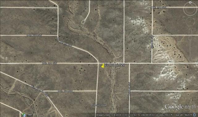 Del Mar(U3 B18 L120) Road SW, Rio Rancho, NM 87124 (MLS #932803) :: The Bigelow Team / Realty One of New Mexico